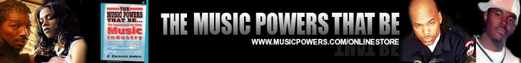 the music powers that be book